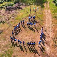 Reparto del Gruppo Scout Nuoro 2, Alzabandiera
